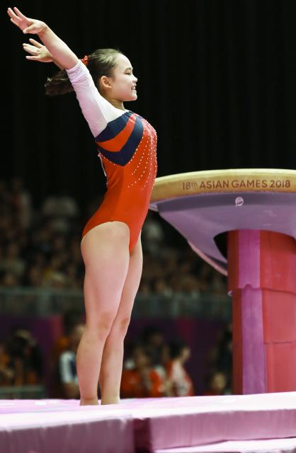 여서정 도쿄올림픽 출전권…'부녀 올림픽 메달' 도전