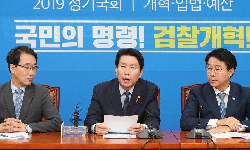 민주, 검찰개혁-민생 '투트랙'…한국, '정권심판' 장외투쟁 지속