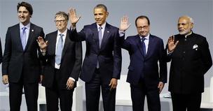 파리 '기후총회' 제안과 안팎 발언