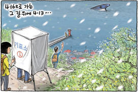 [Cartoon] Voting on Apr. 13 with Apr. 16 in mind