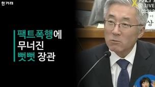 [영상] 손혜원 '팩트 폭행'에 무너진 뻣뻣 김종덕