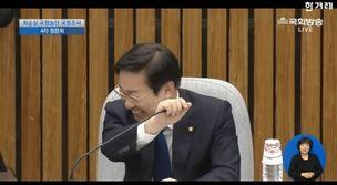 [영상] '박뿜계' 박범계 의원, 청문회 도중 빵터진 이유