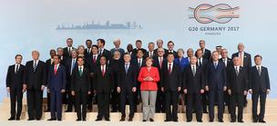 """메르켈 """"G20 비공개 회의서 북 도발 논의…큰 우려 표명"""""""
