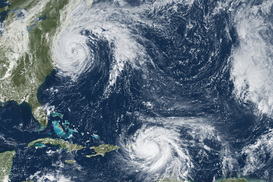 지구 온난화, 더 습하고 강한 태풍 만든다