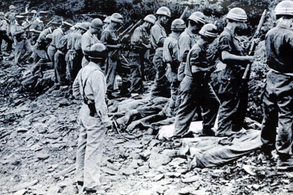 朝鮮戦争で起きた虐殺事件犠牲者の遺骨が発掘できない : 政治•社会 : hankyoreh japan