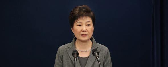 朴大統領「任期短縮など進退問題を国会に任せる」 : 政治•社会 ...