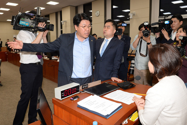 Jang Jae-won, Secretary of the Special Committee on Political Reform in the Free National Party of Korea, Joint Coverage Photo